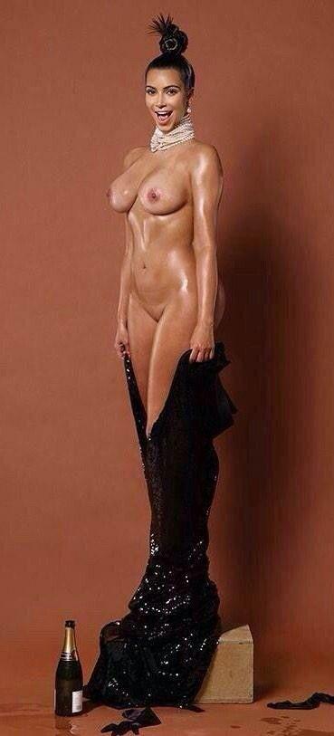 Ким кардашян голая фото