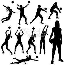 Sombras de juego~ voleibol
