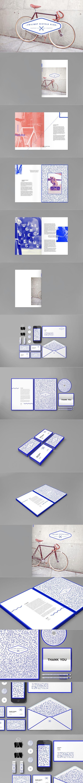 Ik vond dit mooi gebruik van kleur en typografie en een mooi voorbeeld van een huisstijl doorvoeren