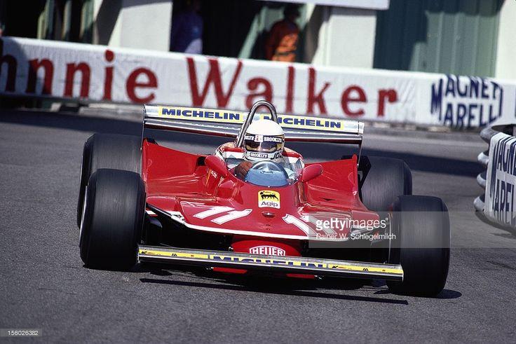 Jody Scheckter, Ferrari 312T4, Monaco Grand Prix, Monte Carlo, 27 May 1979.: