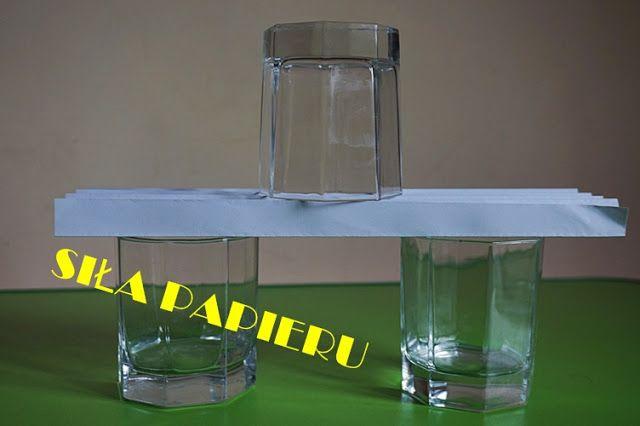 Siła papieru czyli wakacyjne piątki z eksperymentami | Kreatywnie w domu