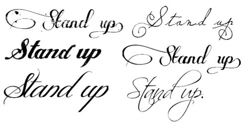 tattoo fonts for girls - Google Search | so pretty ...