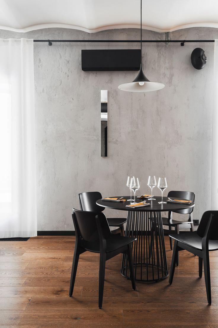 Gastrobar O Restaurant kombiniert russischen und skandinavischen Stil – #combine…