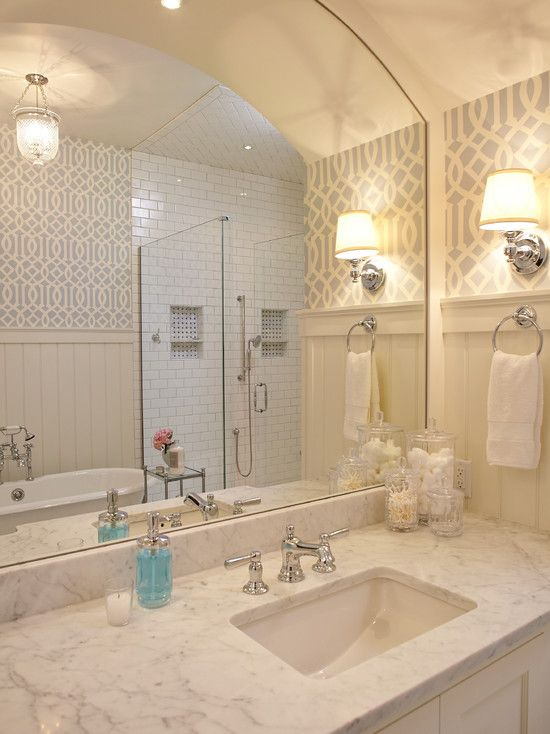 White Lake   Beach Style   Bathroom   Grand Rapids   Francesca Owings  Interior Design Subway Tile And Marble