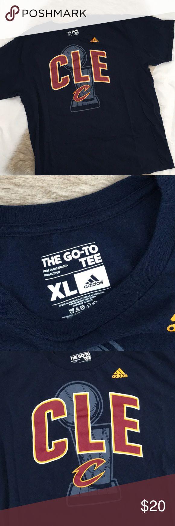 NWOT adidas Cleveland Cavaliers T-shirt Sz XL NWOT adidas Cleveland Cavaliers T-shirt Sz XL adidas Shirts Tees - Short Sleeve