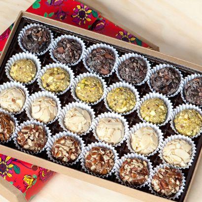 Medium Brigadeiro Box + Honey Cakes-Brazil's Iconic Milk Truffles