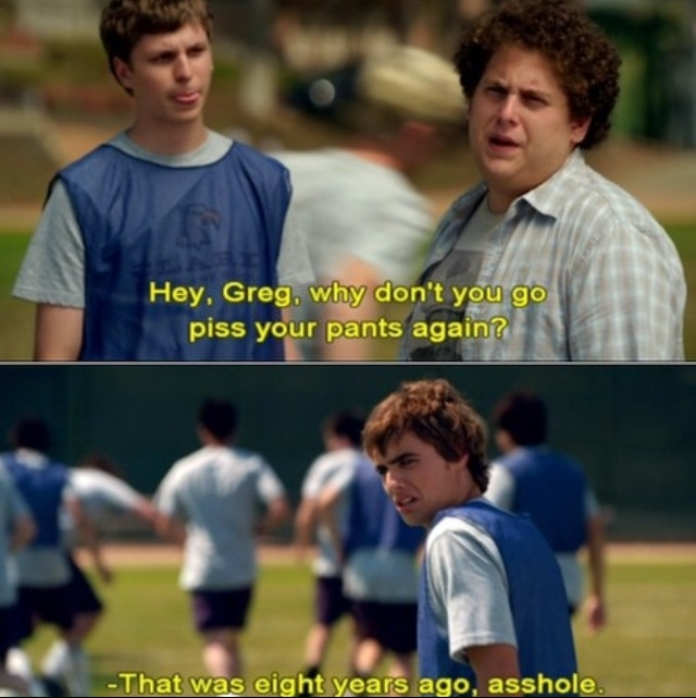 Superbad with a lil' Dave Franco? yes please(;