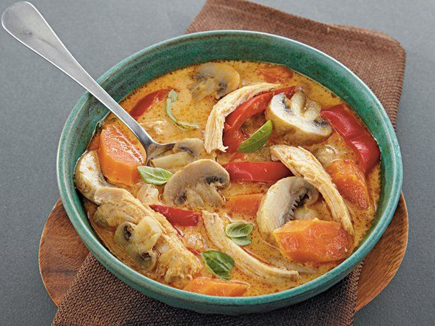 Slow Cooker Thai Coconut Chicken Soup This was sooooo good!