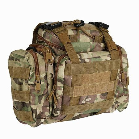 Fishing bag Multifunctional Camouflage Lure bag fishing tackle bag backpack waist pack outdoor bag