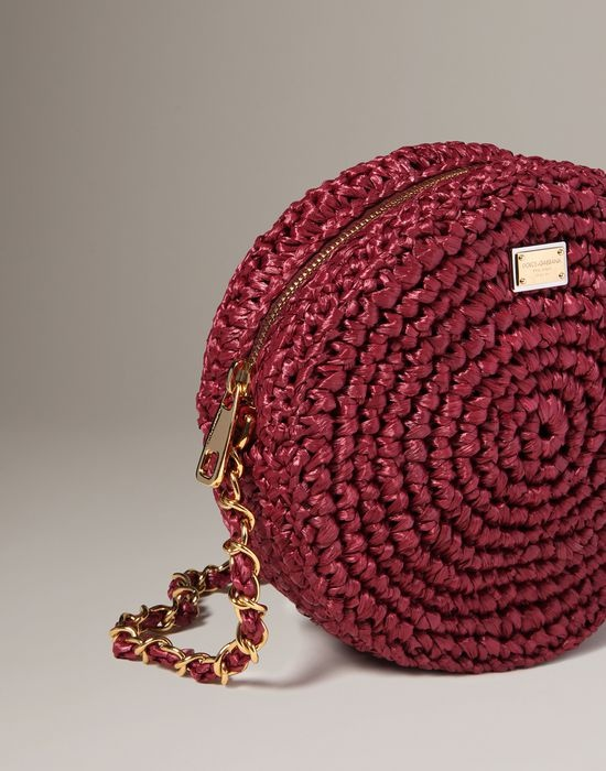 Raffia glam Women - Bags Women on Dolce Online Store United Kingdom - Dolce & Gabbana Group