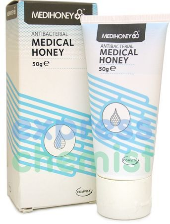 Medihoney Antibacterial Medical Honey 50g Medihoney Antibacterial Medical Honey 50g: Express Chemist offer fast delivery and friendly, reliable service. Buy Medihoney Antibacterial Medical Honey 50g online from Express Chemist today! http://www.MightGet.com/january-2017-11/medihoney-antibacterial-medical-honey-50g.asp