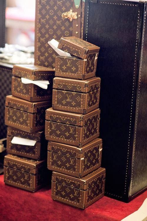 Love these Louis Vuitton watch boxes.