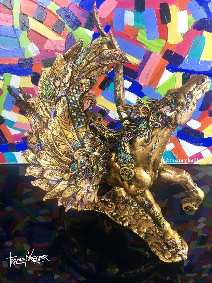 pegasus luxury bronze sculpture