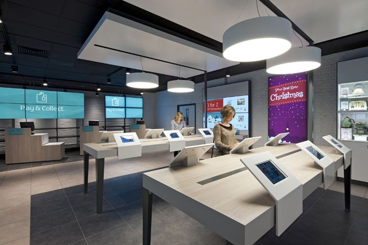 Argos stores by Dalziel and Pow, London store design