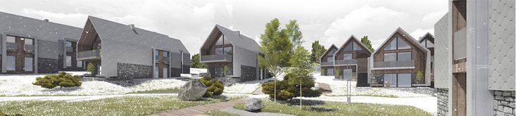 Osiedle Active Village w Karpaczu. I Nagroda w konkursie: Pracownia Gravitacja