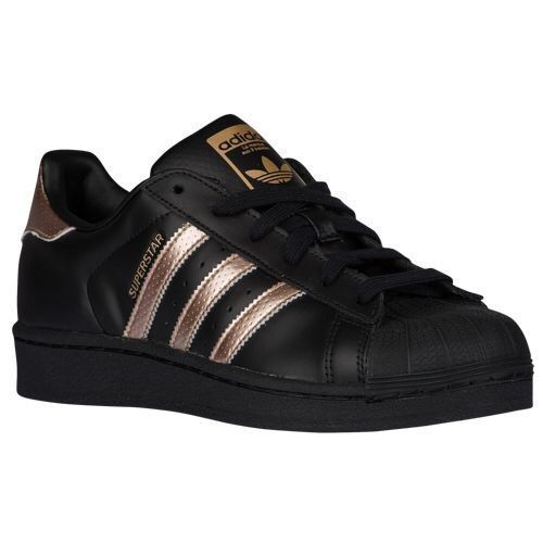 ADIDAS Women 39 s Superstar Originals Shoes Sneaker Black Metallic Copper  Rose Gold   Clothing, Shoes amp  Accessories, Women 39 s Shoes, Athletic    eBay! 77f74d8fd40e