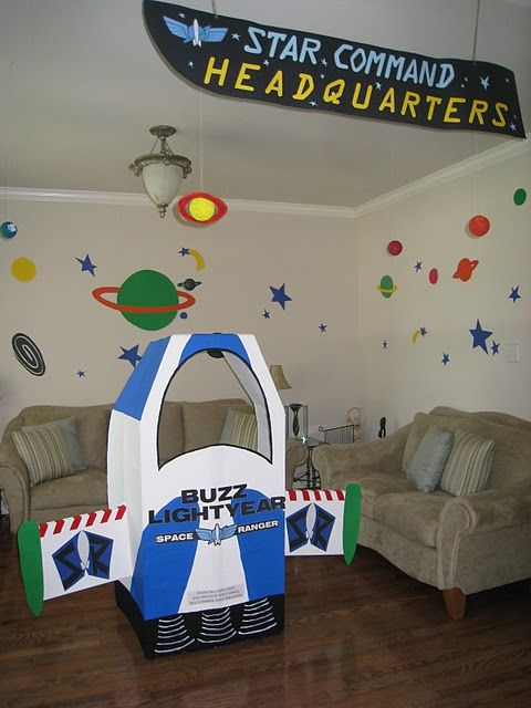 decor for a Toy Story Party
