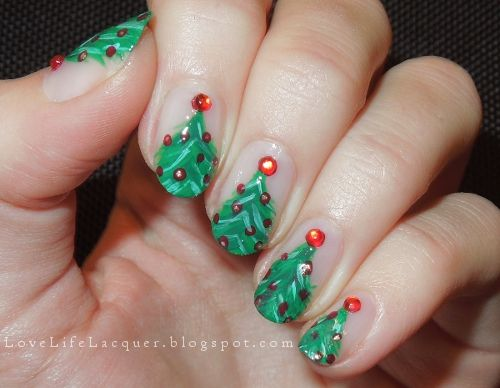 lovelifelacquer: 12 dias do Natal: Árvore de Natal!  Leia mais aqui-
