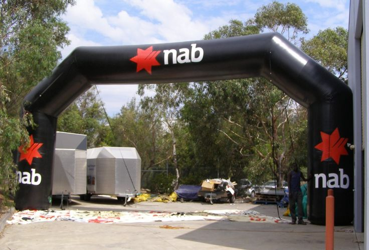 Giant 8m Mitre Elite Infltable Arch for NAB