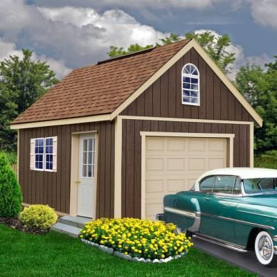 1000 ideas about wood garage kits on pinterest garage kits prices prefab garages and prefab - Prefab garage kits home depot ...