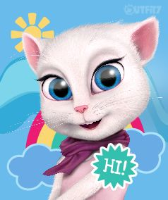 I'm Angela - welcome to my world! There are so many new and exciting things right now that I would like to share with you. <3 xo, Talking Angela #talkingangela #mytalkingangela #LittleKitties
