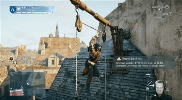 Assassin's Creed Unity Has The Best Glitches