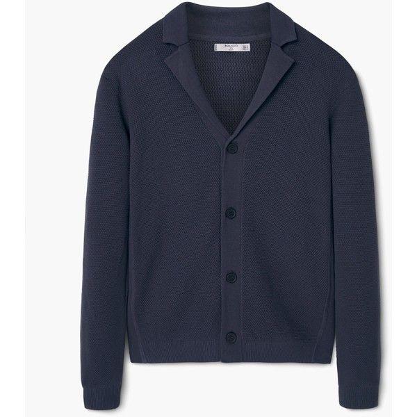 Cardigan e pullover da Uomo | MANGO (€16) via Polyvore