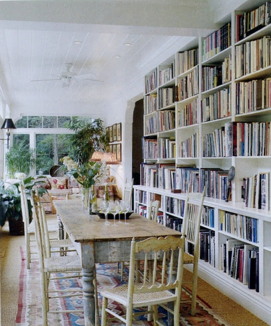 Dining Room And Books Library Pinterest Shelves Be Nice And The O 39