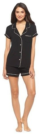 Gilligan & O'Malley Women's Fluid Knit Top and Short Pajama Set