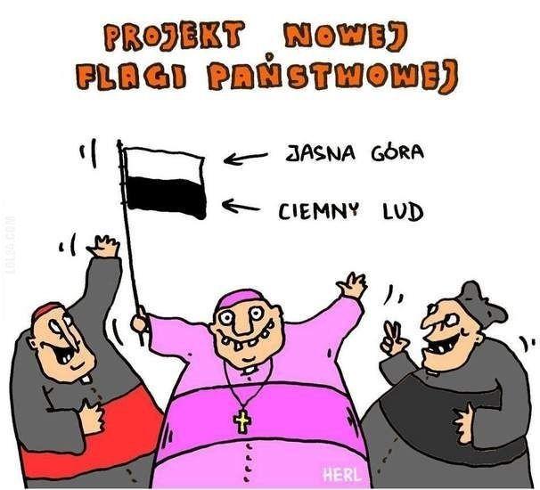Projekt nowej flagi państwowej #nowy #projekt #flaga #Polski
