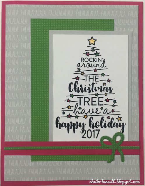 Sheila's Stamping Stuff: Christmas Tunes (October SOTM Blog Hop)