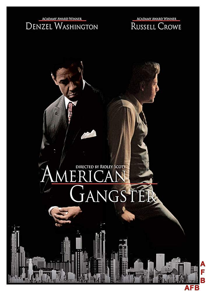 American Gangster 2007 Gangster Movies Gangster African American Movies