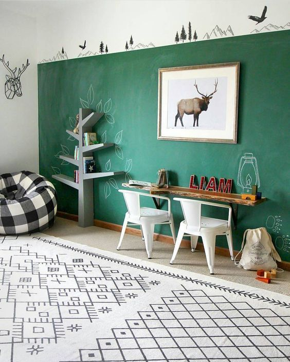 Modern Bedroom Wall Decor Ideas Bedroom Furniture Design 2016 Colours For Boy Bedroom Bedroom Decor Trends 2017: Green Room Decorations, Green Interior Design