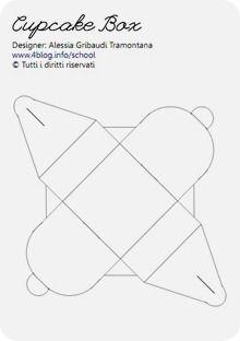 Tutorial e template per una Cupcake Box « Alessia, scrap & craft...Alessia, scrap & craft…