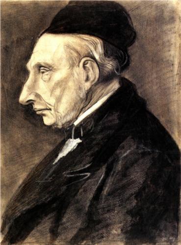Portrait of Vincent van Gogh, the Artist s Grandfather - Vincent van Gogh
