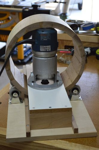 Router Jig for making round boxes - by Julian @ LumberJocks.com ~ woodworking community