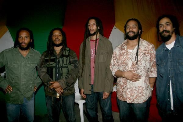 Ziggy, Stephen,Julien, KyMani, Damian- The Marley Brothers ( Do I need to say more?)