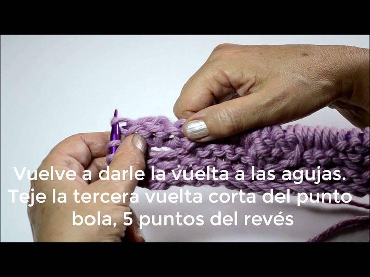 Aprende a tejer Punto Bola paso a paso en nuestro blog.