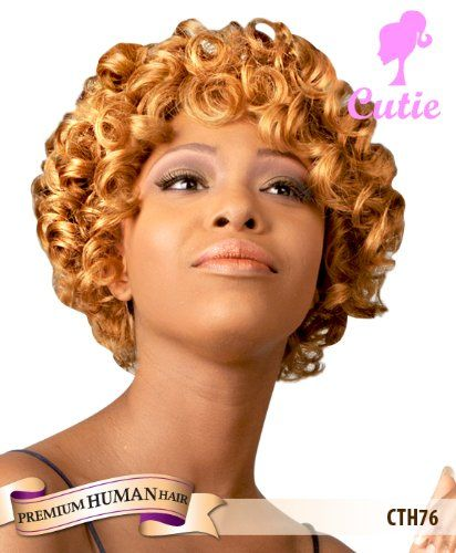 Premium Human Hair Cutie Collection Wig CTH76-BRAND NEW WITH TAG (FS4/27) -- You can find more details by visiting the image link.