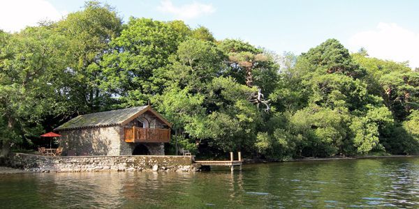 The Boathouse at Knotts End, Ullswater, Lake District, UK Hotel Reviews | i-escape.com