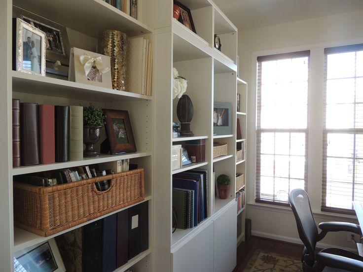 Billy Bookshelves IKEA Hack