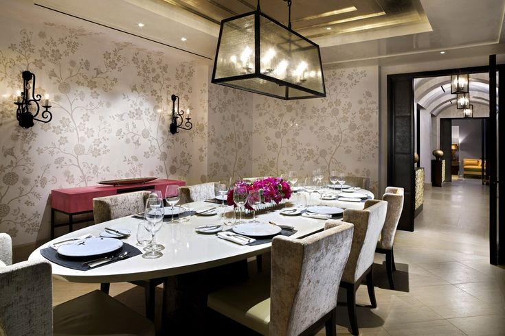 The Hotel Bel-Air | table