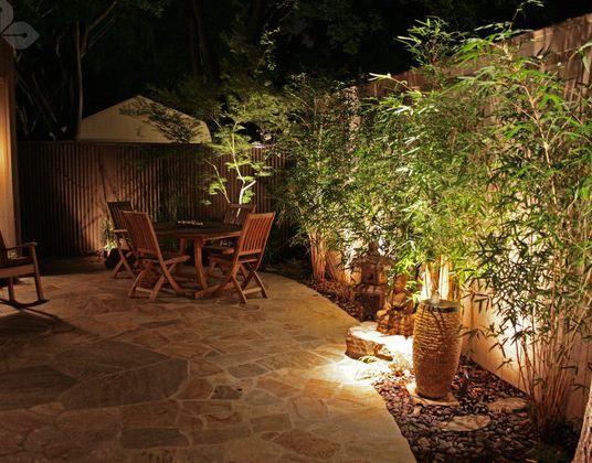 Tata Lampu Taman Eksotik | Model Desain Rumah Terbaru