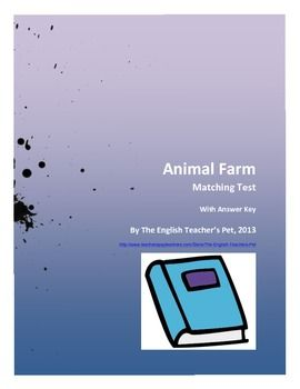 an animal farm essay