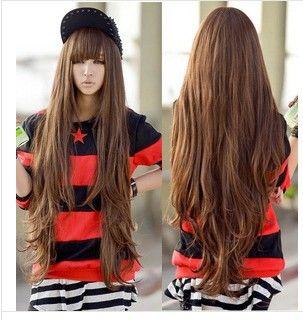 молодых парик косплей парик парики афроамериканцев 80см желтого белья кудри типов коричневый дешевые парики онлайн US $25.30