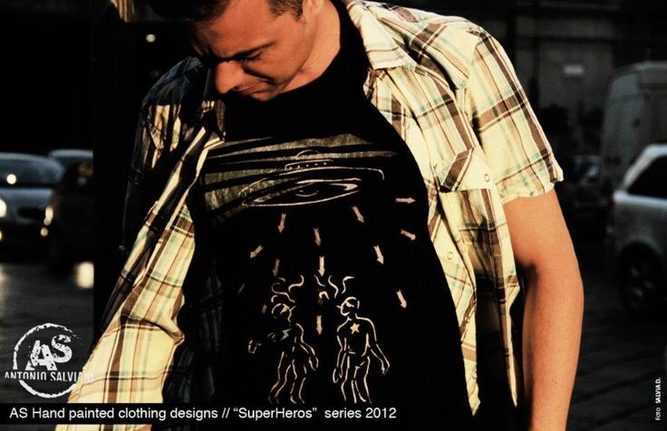 t-shirt hand painting
