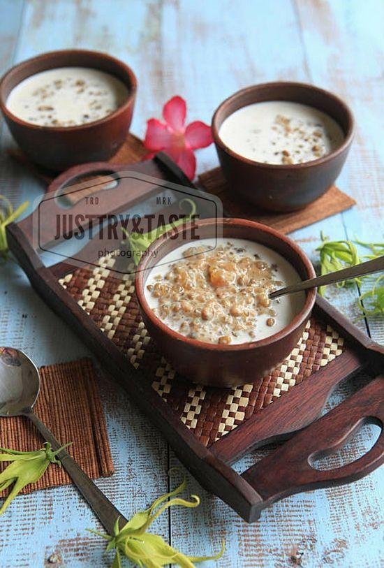 Resep Bubur Kacang Hijau dengan Sagu Mutiara (Slow Cooker)