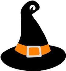 Resultado de imagem para chapeu de bruxa