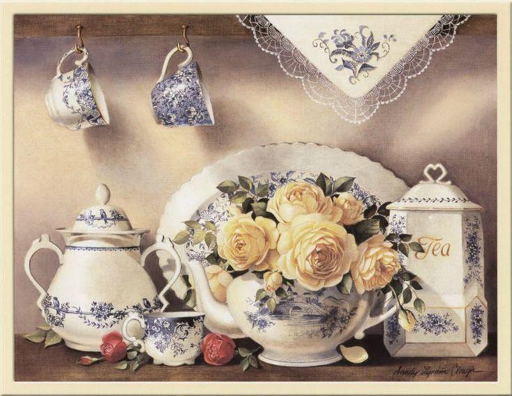 картинки для декупажа чайная тема - Поиск в Google