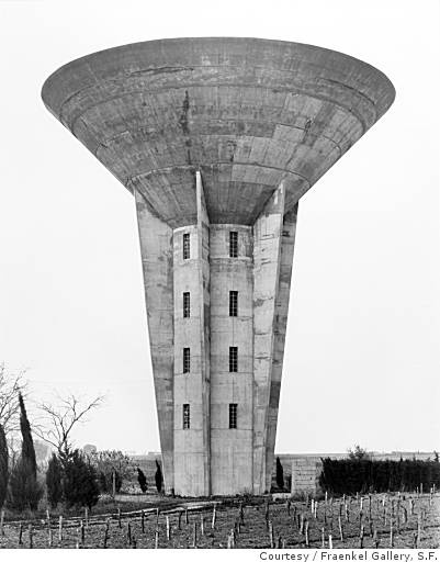 Water Tower, Pinet, France, (Photo 1984 Bill & Hilla Becher )